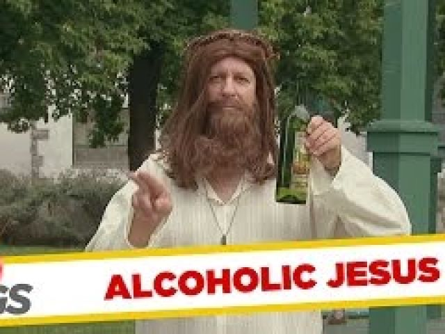 Alcoholic Jesus & Weird Cop Pranks