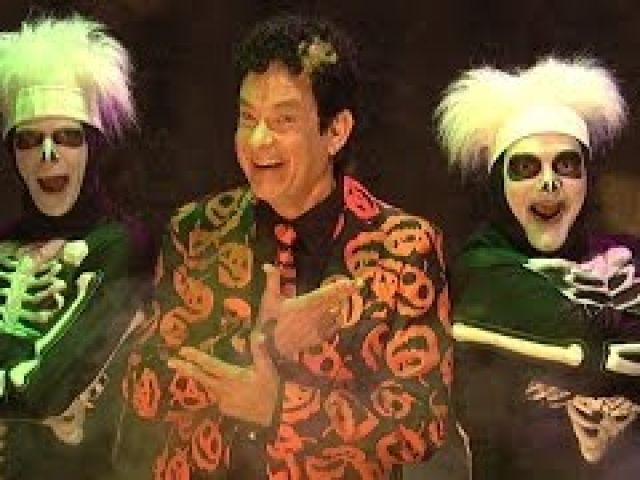 SNL David S. Pumpkins Skit ALL Dance Scenes