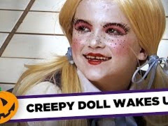 Creepy Doll Comes To Life