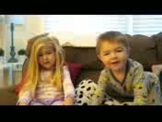 Cute Kids with Candy Prank