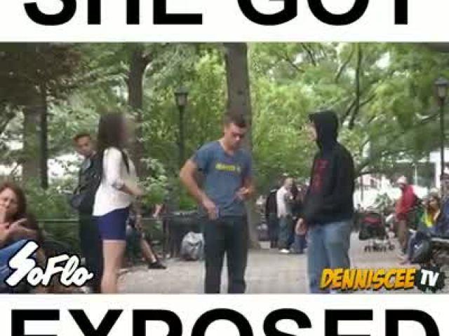 She Got Exposed (Prank)