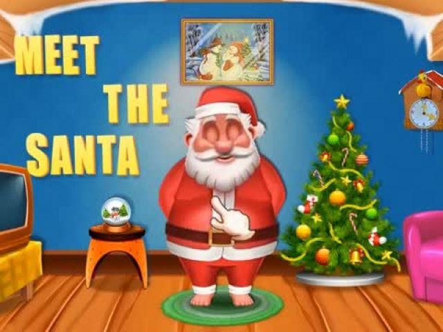 My Crazy Santa Talking - Talking Games By Gameiva