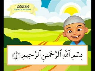 Surah Al-Fatihah Untuk Kanak-kanak Versi Upin dan Ipin