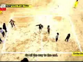 Running Man Eng Sub Funny Moments -- Lee Kwang Soo and Yoe Jae Suk -- DogeBall