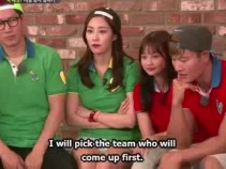 Running Man Funny Moments- Sweet Radish Pepero Game