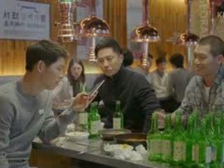 [ENGSUB] Desc3ndants of the Sun Ep13 - Song Joongki-Jingoo Getting Drunk Cut