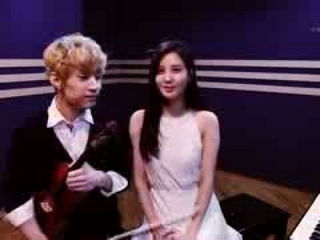 Henry 헨리 Playing 'TRAP' Violin & Piano ver. with SeoHyun 서현 of Girls' Generation