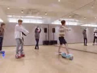 NCT DREAM Hoverboard Freestyle 2