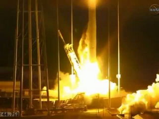 NASA's unmanned Antares rocket explodes on launch