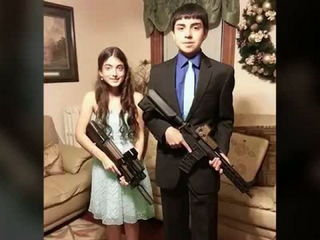 Teens posing with Airsoft guns for homecoming get into hot water
