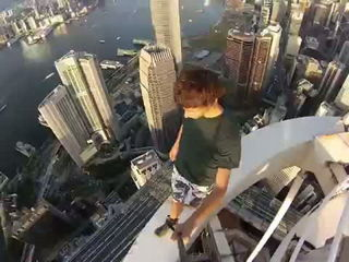 Highrise Hong Kong (Crazy Selfie)