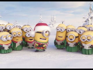 Check out a special holiday greeting minions have just for you!