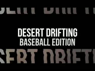 Desert Drifting Baseball Edition - Dude Perfect