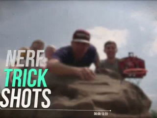 NERF Trick Shots - Dude Perfect