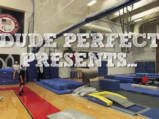 Olympic Trick Shots - Dude Perfect