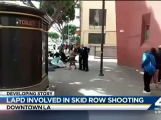 Los Angeles Police Shoot and Kills a Black Homeless Man