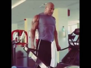 The Rock Workout Training