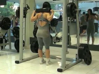 Eva Andressa - The Best Exercise for lower body