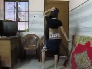 Crazy red hot Dance on CHIKNI CHAMELI by dhaka university Girl