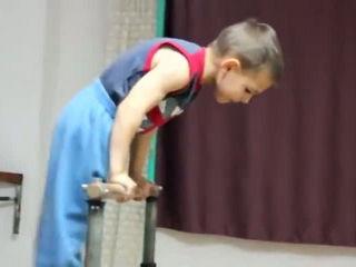 Body Builder Kid
