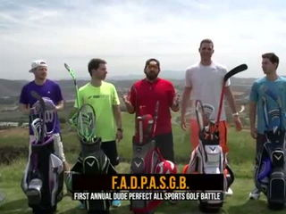 All Sports Golf Battle - Dude Perfect