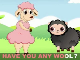 Baa Baa Black Sheep with Lyrics - Kids Songs and Nursery Rhymes by EFlashApps