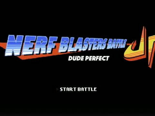 Nerf Blasters Battle - Dude Perfect