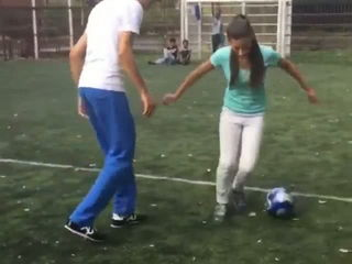 Lisa Female Football Tricks