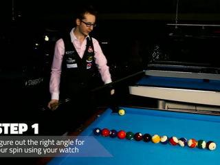 Billiard Tutorials - The Masse Shot