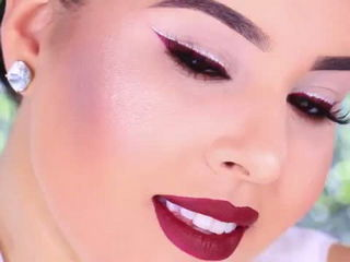 Super Easy Last Minute AFFORDABLE Holiday Makeup Tutorial Nelly Toledo