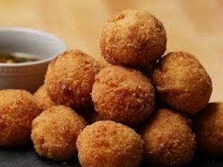 Fried Tofu Shrimp Ball