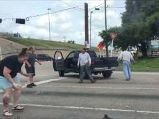 Houston Road Rage Viral Video
