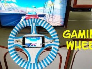 How to Make a Gaming Wheel at Home - Easy Way