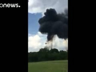 Moment of fatal Blue Angels jet crash caught on camera
