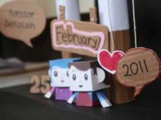 Happy 1st Anniversary Ajeng - Stop Motion Video