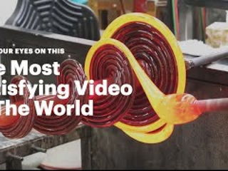 The Most Satisfying Video In The World (Glass Spiral)