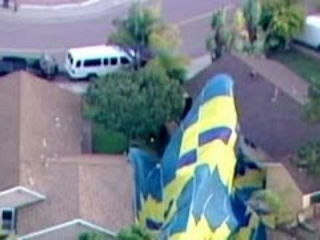 Hot Air Balloon Wedding Crash Caught on Tape in San Diego