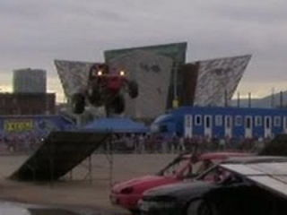 Titanic Quarter Belfast Monster Truck Crash