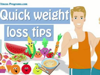 12 Quick Weight Loss Tips