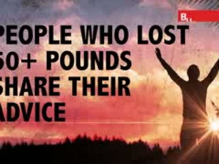 People Who Lost 50+ Pounds Share Advice