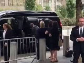 Video of Hillary Clinton Falling