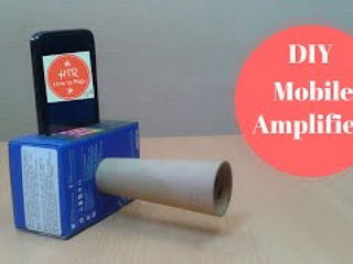 Make a Cheap DIY Smartphone AmplifierSpeaker to Boost the Volume