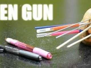 How to make a simple & powerful pen gun