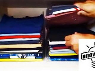 New Invention: Ingenious dividers to keep your clothes organized!