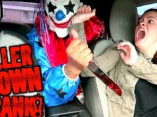 Gone Wrong Extreme Killer Clown Prank !!!