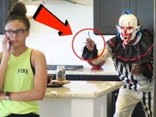 Killer Clown Prank Kill Prank