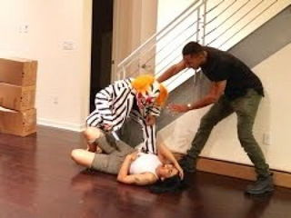 Friends Become Killer Clown for Prank