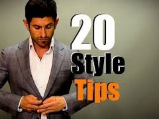 20 Simple Style Tips For Men