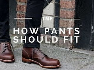 Getting the Right Fit on Trousers Pants