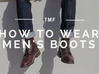 How to Wear Men's Boots